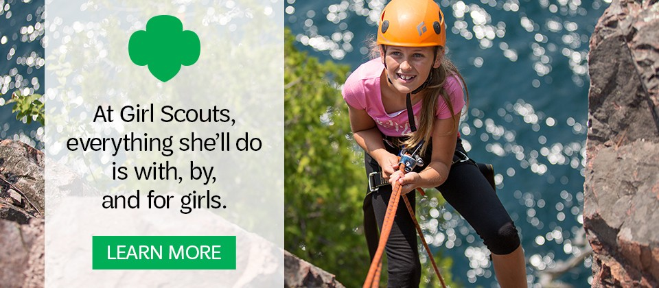 Learn about the Girl Scout difference