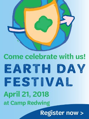 Join us for the Earth Day Festival at Camp Redwing!