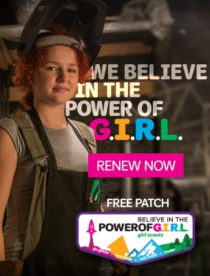 We believe in the power of G.I.R.L. Renew today!