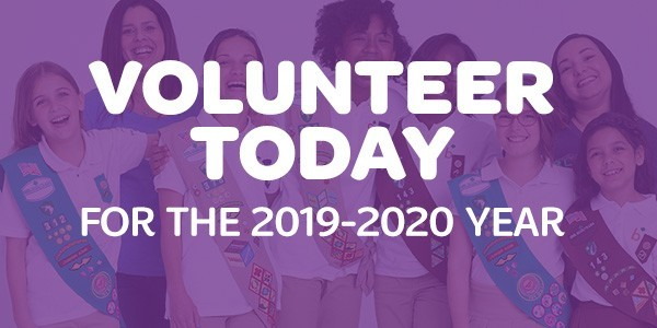 Become a Girl Scout Volunteer!