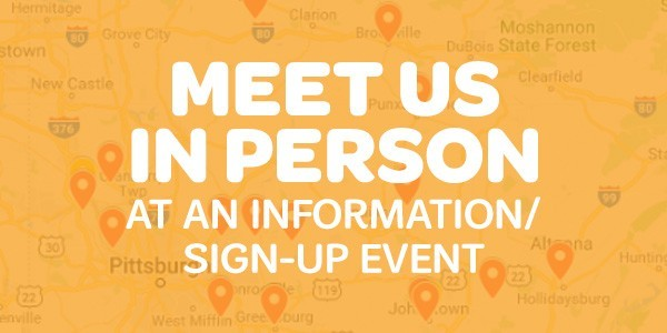 Join us at an Informational/Sign-up Event