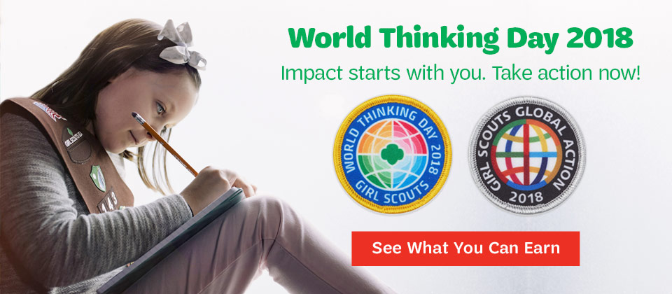 World Thinking Day is February 22