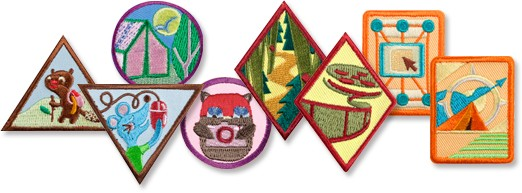 Badges girl scouts western pennsylvania girl scout badges publicscrutiny Image collections